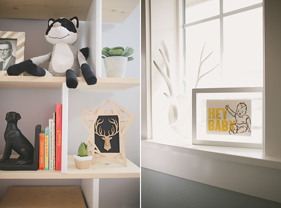 Modern boy's nursery | Ampersand Studios | 100 Layer Cakelet