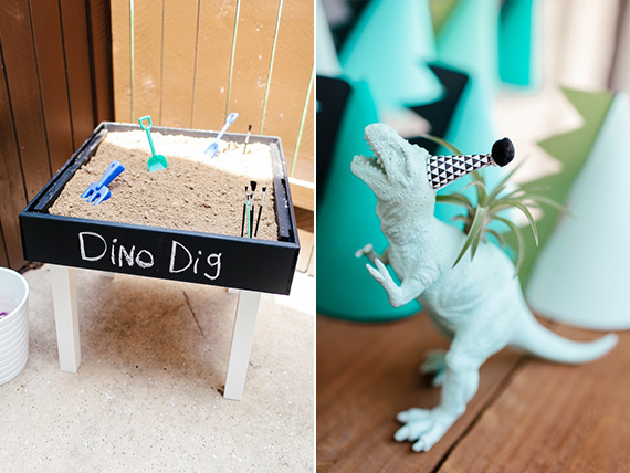Modern Dinosaur 2nd Birthday By Jennifer Laura Design