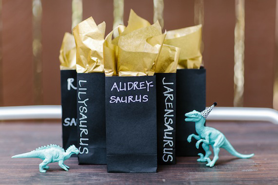 Modern dinosaur 2nd birthday by Jennifer Laura Design | Kristen Curette Photography | 100 Layer Cakelet
