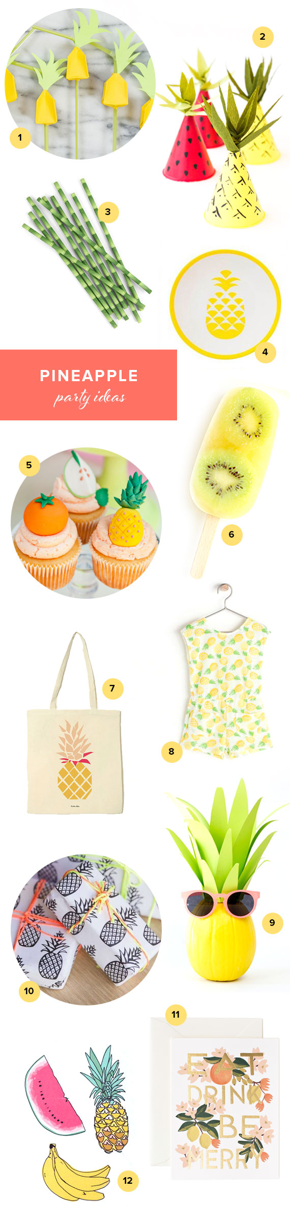 Pineapple Kids Party Ideas Kids Birthday Parties 100