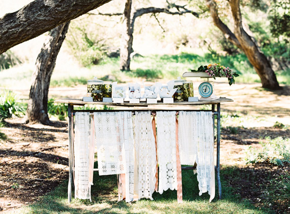 Rancho Santa Fe baby shower by Folklore Rentals and Jen Wojcik Photography | 100 Layer Cakelet