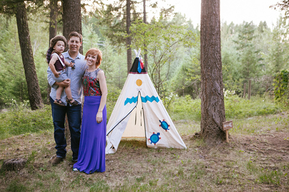 Little Explorer mountain birthday party | Kelli Trontel | Cue The Confetti | 100 Layer Cakelet