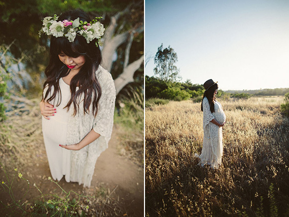 Los Angeles golden hour maternity photos by Yes, Dear Studio | 100 Layer Cakelet
