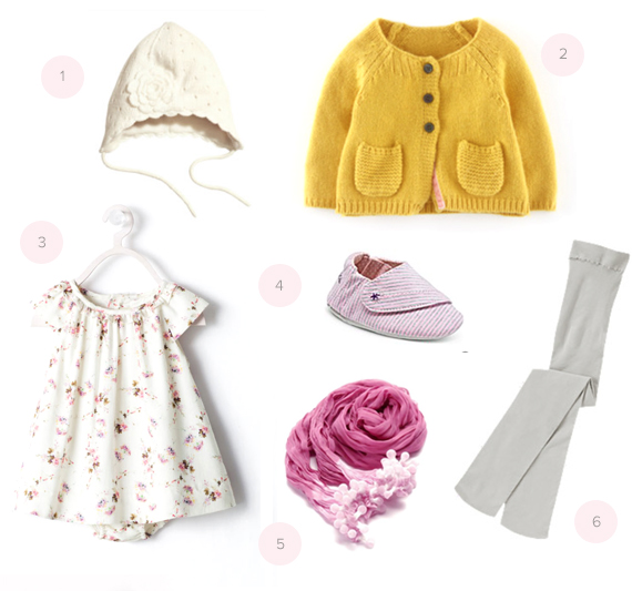 Baby girl outfit with Splendid shoes | Giveaway on 100 Layer Cakelet