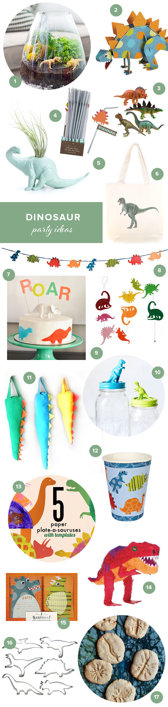 Dinosaur party ideas | 100 Layer Cakelet