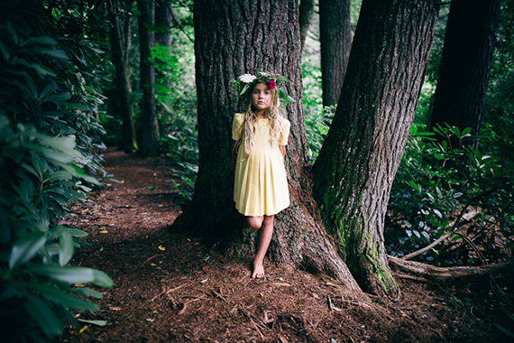 Forest portraits by Wild Scout Photography | 100 Layer Cakelet