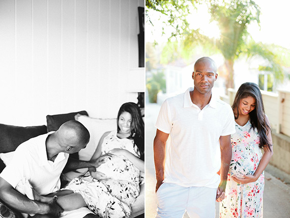 Woodland Hills maternity photos by Nicole Anderson | 100 Layer Caklelet