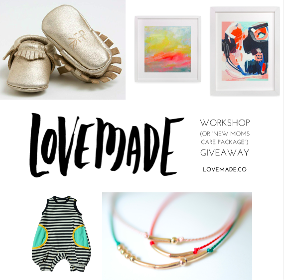 Lovemade: A workshop for expecting moms from Jeanne Chan and Janette Crawford | Giveaway | 100 Layer Cakelet