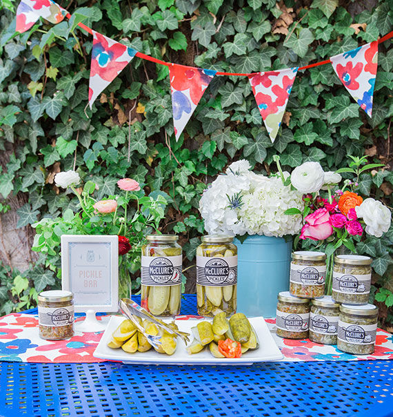Pickles and Ice Cream baby shower by Ideal Events and Design | Jon Hartman Photo | 100 Layer Cakelet
