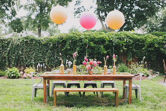 New Jersey backyard baby shower from Love Sylvia Photography