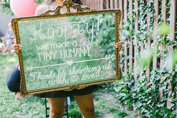 Pink backyard baby shower in New Jersey | Love Sylvia Photography | 100 Layer Cakelet