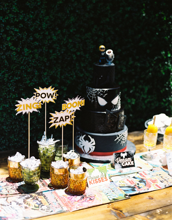 Super Hero birthday party | Jen Wojcik | 100 Layer Cakelet