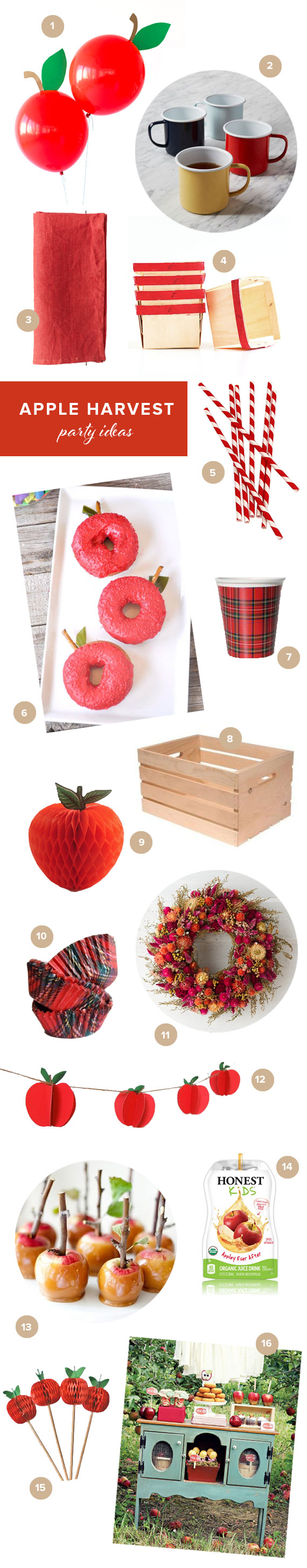 Apple harvest party ideas | 100 Layer Cakelet