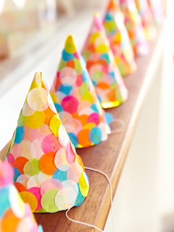 Bright confetti-themed baby shower   photos by Alana Landsberry   100 Layer Cakelet