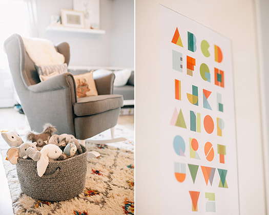 Brooklyn girl's nursery | photos by Nicki Sebastian | 100 Layer Cakelet