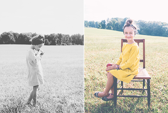 First day of school portraits | Jillian Lupi of Snapped Studios | 100 Layer Cakelet