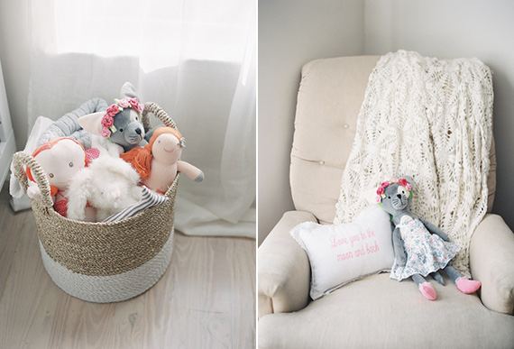 Neutral grey girl's nursery by Jessica Lorren Photography | 100 Layer Cakelet