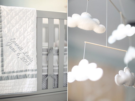 Grey neutral nursery design by Natalie Ann Photography | 100 Layer Cakelet