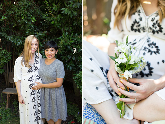 Backyard baby shower for Eden and Ilana Saul | Stephanie Todaro Photography | 100 Layer Cakelet