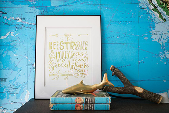 Maritime-inspired boy's room by Dina Holland of Honey and Fitz | Photos by Jessica Delaney | 100 Layer Cakelet