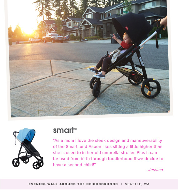 Phil and Ted's Smart stroller review on 100 Layer Cakelet