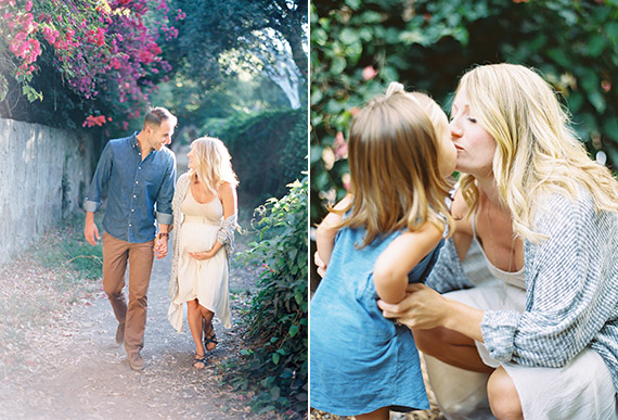 Santa Barbara family maternity photos by The Great Romance Photo | 100 Layer Cakelet