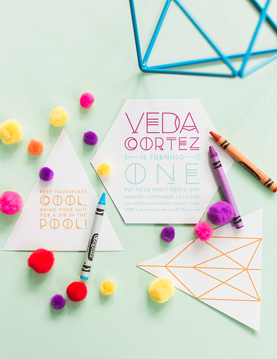 Veda's bright boho 1st birthday by Blue Lotus | Photos by Sarah Kate Photo | 100 Layer Cakelet