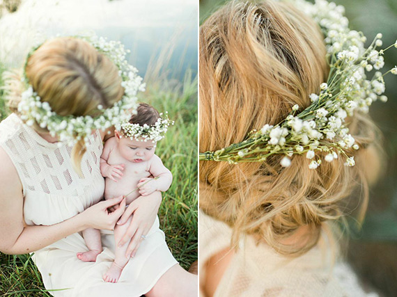 Mother-daughter maternity photos by Lauren W Photography | 100 Layer Cakelet