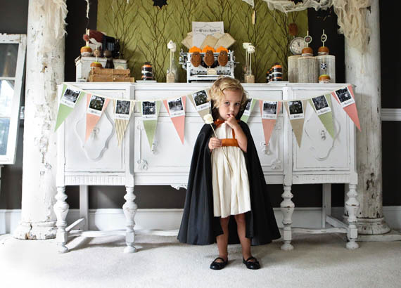 Spooky halloween party by Anders Ruff Designs | Becca Bond Photography | 100 Layer Cakelet