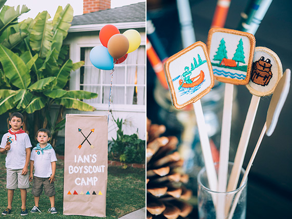 Moonrise Kingdom Vintage Boy School Birthday Party
