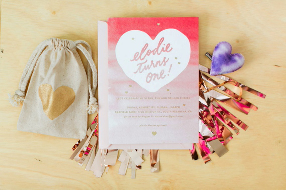 Pink and gold first birthday | photos by Erin J. Saldana | 100 Layer Cakelet