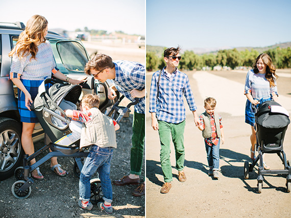 Visit to the pumpkin patch with Orbit Baby | Underwood Family Farms | Photos by Rebecca Fishman | 100 Layer Cakelet
