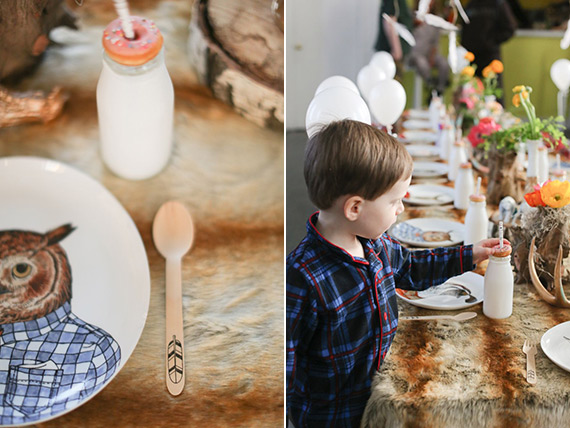 Pancakes and Pajamas 3rd birthday party by Ashley Nicole Events | Laura Murray Photography | 100 Layer Cakelet