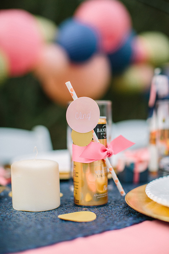 Pink and Blue baby shower ideas by Tania Fischer Design | Shelby Clark of Joielala | 100 Layer Cakelet