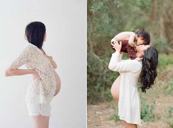Maternity photos by Elizabeth Messina | 100 Layer Cakelet