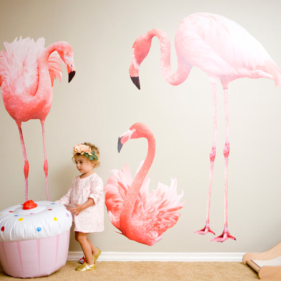 Floral Flamingo 2nd birthday party | 100 Layer Cakelet