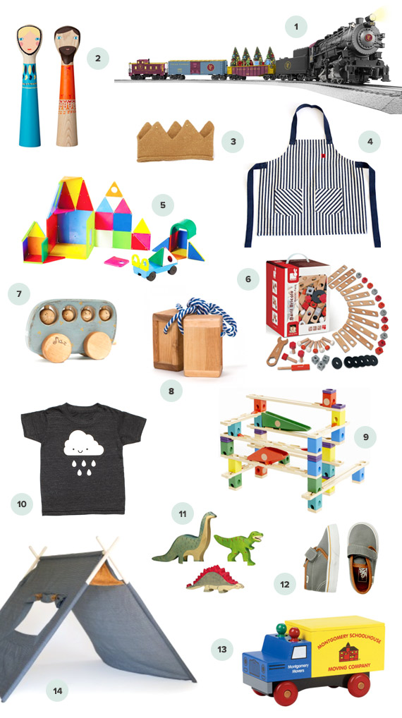 100 Layer Cakelet 2014 gift guide for boys