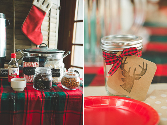 Cocoa + cookies first birthday for Twins | MeghanElise Photography | 100 Layer Cakelet