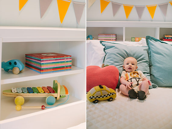 New York-themed nursery for baby Ellis | Shannon Yau Photography | 100 Layer Cakelet