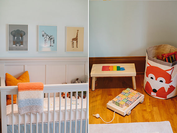 A New York Themed Nursery For Baby Ellis Nursery Kids