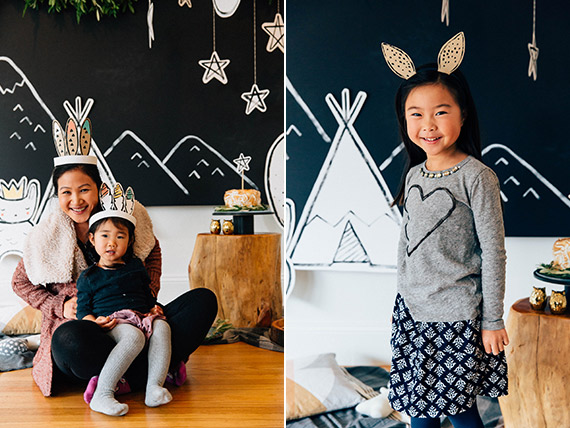 Modern camp-themed birthday for twins by Gloria Wong Design | Ashley Batz Photography | see more on 100 Layer Cakelet