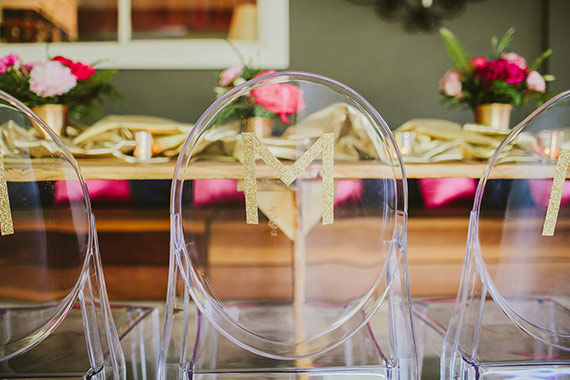 Pink and gold geometric baby shower by LB Events and Wild Whim Photography | 100 Layer Cakelet