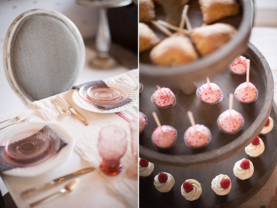 Valentine's Day baby shower from Found Vintage Rentals | Photos by Studio EMP | 100 Layer Cakelet