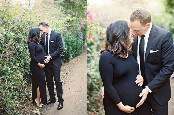 Formal family maternity photos by The Great Romance Photo | 100 Layer Cakelet