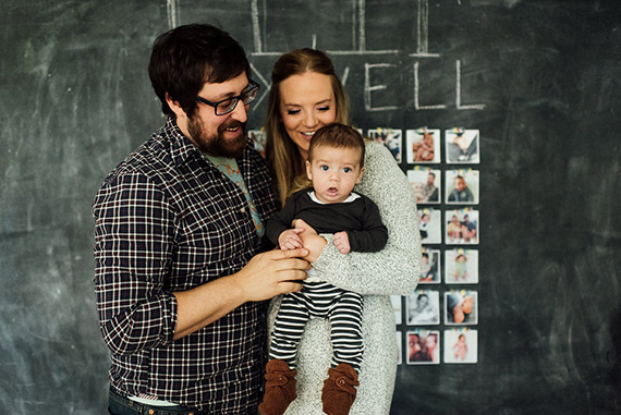 Philadelphia family photos and nursery tour by M2 Photography | 100 Layer Cakelet