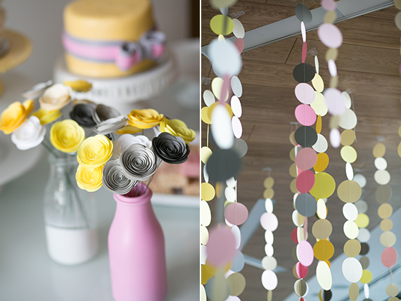 Yellow and grey baby shower by Wu La La Events and Lucy Chang Photography | 100 Layer Cakelet