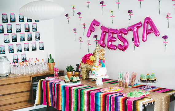 Fiesta 2nd Birthday Kids Birthday Parties 100 Layer Cakelet