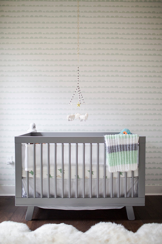 Moody, modern boy's nursery by Ashleigh Coleman | 100 Layer Cakelet