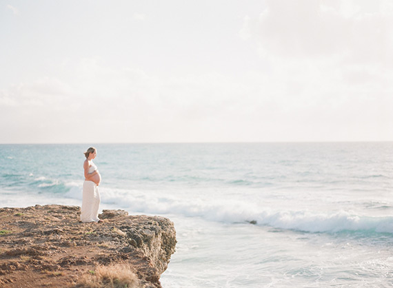 Oahu maternity photos by Christine Clark | 100 Layer Cakelet