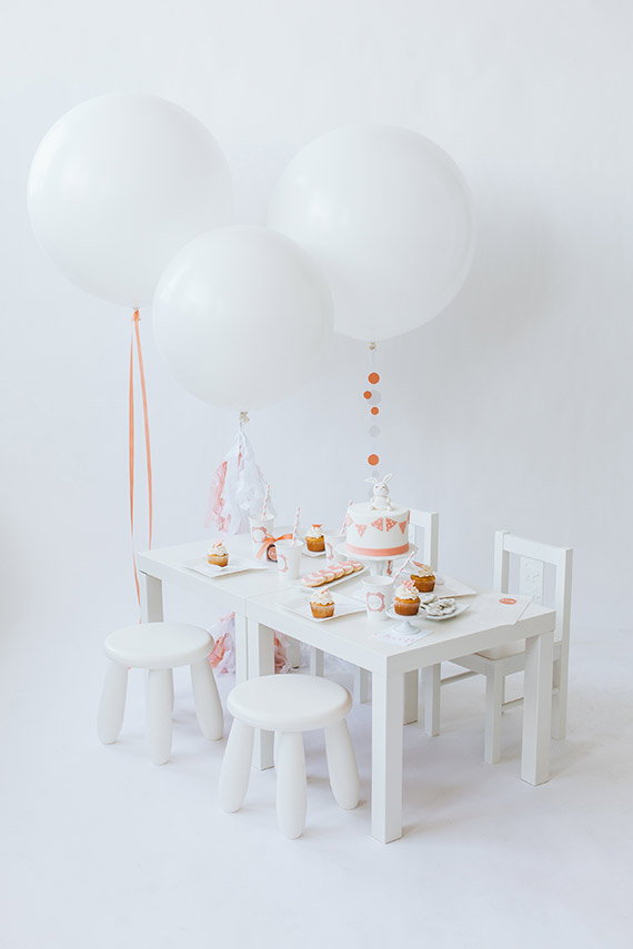 Party ideas for babies by The Confetti Co. | 100 Layer Cakelet